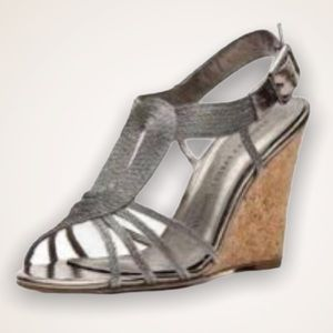 ADRIANNA PAPPELL Boutique Cork Wedges